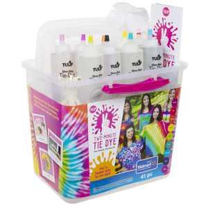 Tulip Two Minute Tie Dye Big Box Kit, 9 Bright Colors