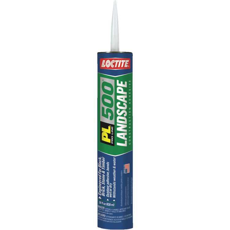 Loctite PL 500 28 Oz. Landscape Adhesive 1602122