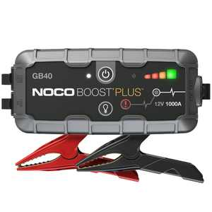 NOCO Boost Plus GB40 1000 Amp 12-Volt UltraSafe Lithium Jump Starter For Up To 6-Liter Gasoline And 4-Liter Diesel Engines