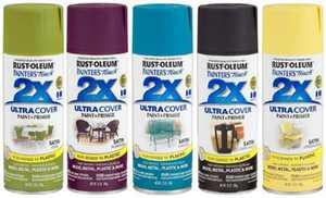 Painters Touch 263148 12 Oz Satin Lemon Grass Ultra Cover 2x Satin Spray, PartNo