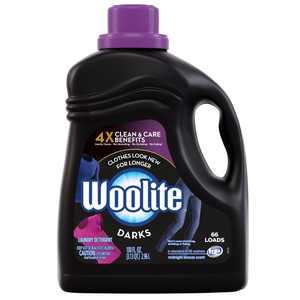 Woolite DARKS Liquid Laundry Detergent, 66 Loads, for dark clothes, HE & Regular Washers