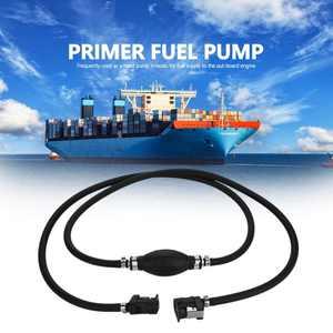 VBESTLIFE Boat Fuel Pump Line Hand Primer Bulb Gas Outboard Petrol Fuel Line, Fuel Hand Pump,Fuel Pump