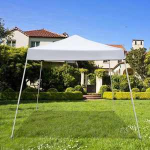 Zimtown 10' x 10' Pop Up Canopy Tent Instant Practical Waterproof Folding Tent with Carry Bag