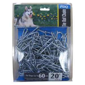 Boss Pet 43720 20' Large PDQ Twisted Dog Chain