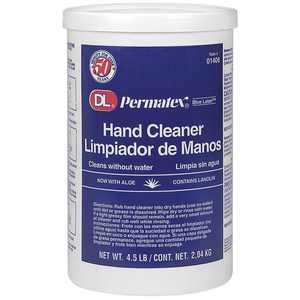 Dl Permatex Blue Label 01406 Cream Hand Cleaner 4.5 Lb Plastic Tub