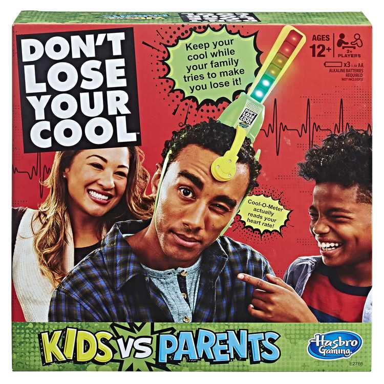 Don't Lose Your Cool Kids vs. Parents, for Ages 12 and Up, for 2 or More Players