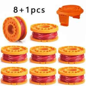 8+1PCS Trimmer Spool Line for Worx WG154 WG163 WG180 WG175 WG155 WG151 WG160