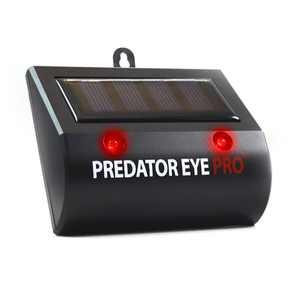 Aspectek l 4600sq ft l Predator Eye PRO l Kick Stand Solar Powered | Predator Light Deterrent Light | Night Time Animal Control for Wild Animals Rodents, Cats, Dogs, Birds, Raccoon, Wolves, Foxes