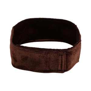 Lv. life Flexible Velvet Wig Grip Scarf Head Band Adjustable Fastern Hairband Headband Accessory (Brown)