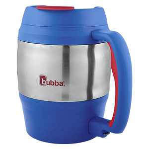 Bubba Classic Durable Desk Mug, Vineyard w/ Luau Accents, 52oz w/ Bottle Opener