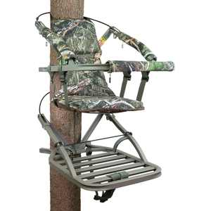 Summit Treestands Viper SD Self Climbing Treestand for Bow & Rifle Deer Hunting, 300 lbs.