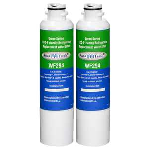 Replacement Water Filter For Samsung RF28HFEDTSR/AA Refrigerator Water Filter by Aqua Fresh (2 Pack)