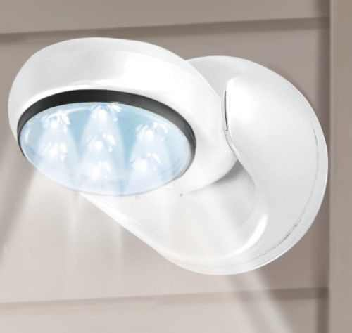 Motion Activated LED Light Cordless Battery Powered Sensor On TV Fit Angel Base