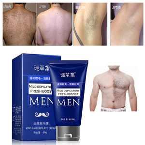 Man's Permanent Body Hair Removal Cream Hand Leg Hair Loss Depilatory Cream