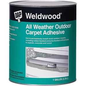 Dap 442 1 qt. Weldwood Outdoor Carpet Adhesive - Tan