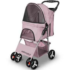 Paws & Pals City Walk N Stride 4 Wheeler Pet Stroller