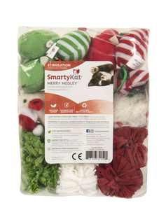 SmartyKat Merry Medley 16 piece cat toy variety pack
