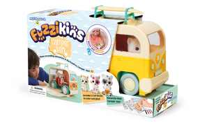 Fuzzikins Craft Camper Van Cats Carrying Case: Design Your Own Kitty Friends