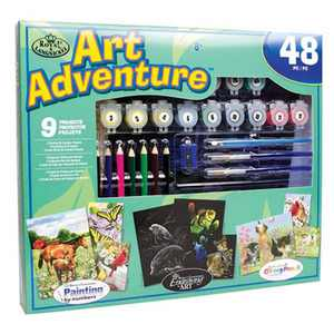 Royal & Langnickel Art Adventure Super Value Set - 9 Projects, 48pc