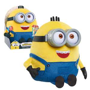 Illumination's Minions: The Rise of Gru Laugh & Chatter Otto, Plush Simple Feature, Ages 3 Up, by Just Play