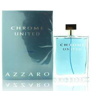 Azzaro Chrome United Eau De Toilette Spray Men 6.8 Oz