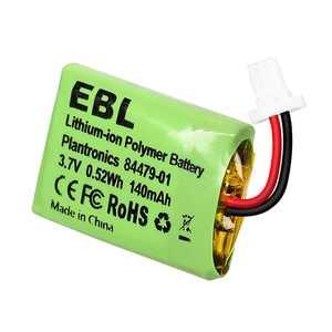 EBL 140mAh 3.7v Li-ion Battery For Plantronics CS540, 86180-01, 84479-01, CS540A, CS540, C054 Wireless Headsets Batteries