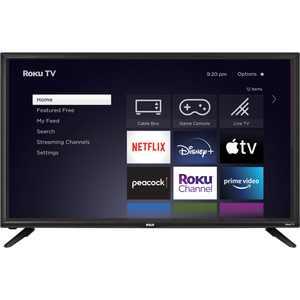 "RCA 40"" Class FHD 1080P Roku LED Smart TV (RTR4060-W)"