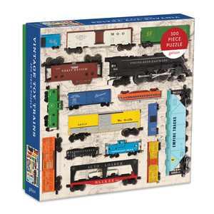 Galison - Vintage Toy Trains - 300 Piece Jigsaw Puzzle