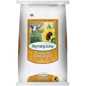 Morning Song 11410 50 lbs Black Oil Sunflower Seed