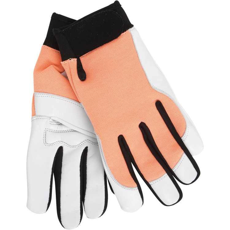 Midwest Gloves & Gear Women's Medium Goatskin Leather Work Glove 146F6-8