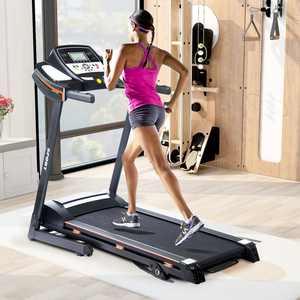 Merax 818 2.25HP 3 Manual Incline Folding Electric Treadmill Motorized Running Machine with Hydraulic Rod Mechanism