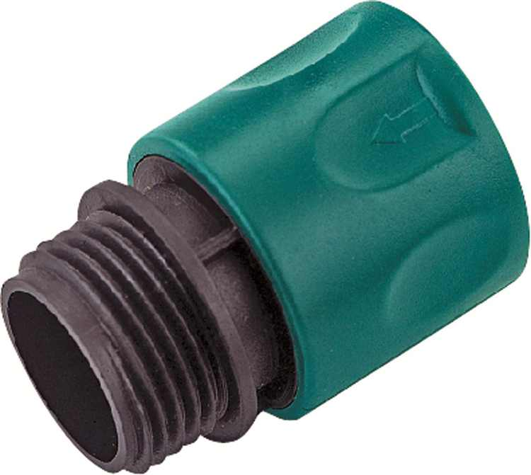 Landscapers Select Hose Quick Connector 3/4 In Male Thread Plastic