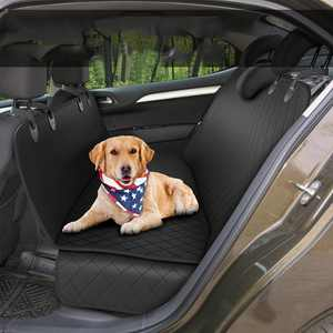 Meidong Dog Back Seat Cover Protector Waterproof Scratchproof Nonslip Hammock for Dogs Backseat Protection Against Dirt and Pet Fur Durable Pets Seat Covers for Cars & SUVs
