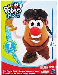 Mr. Potato Head Little Taters Sea Pirate Spud, Mr. Potato Head Sea Pirate Spud 4 inch Figure. By Hasbro
