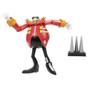 Sonic The Hedgehog - Dr. Eggman with Spike - 4 Inch Action Figure
