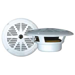 "PYLE PLMR61W 6.5"" 120W Marine/Boat Car Waterproof Full Range Audio Speakers"