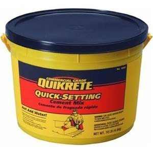 Quikrete 1240 Quick-Setting Cement - 10 lbs