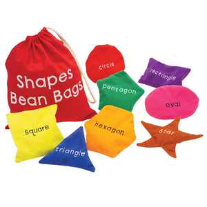 Educational Insights Shapes Beanbags, Learn Shapes, Toddler Toys, Preschool Toys, Sensory Toy for Ages 3+