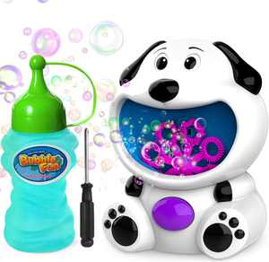 Bubble Machine, Automatic Bubble Maker,Bubble Blower for Party Best Bubble Toys and Gifts, Perfect Outdoor & Indoor for Kids Boys & Girls