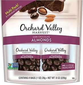 Orchard Valley Harvest Dark Chocolate Almonds 8-1 oz Bags
