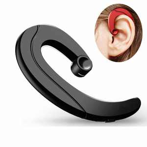 Bluetooth Headset Non Ear Plug Wireless Headphones Music Sport Earphones Noise Cancelling Earpieces Earhook With Microphone Hand Free Painless Wearing Music Earbuds For Running Business Driving