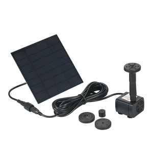 Decdeal Solar Powered Water Pump