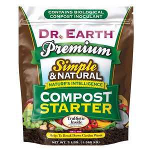 Dr. Earth Premium Compost Starter Mineral Supplement, 3 lb.