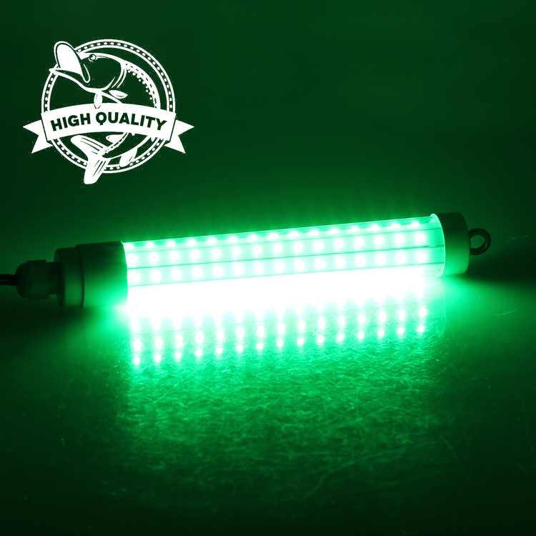 12V LED Green 1000 Lumens Deep Drop Underwater Submersible Night Fishing Light Lamp