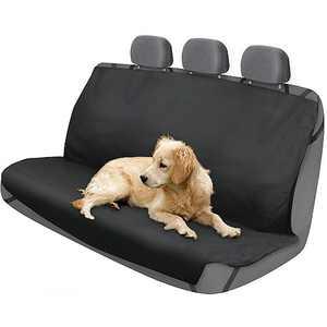 2Air Odor Eliminating Black Rear Bench Seat Protector