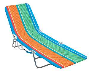RIO Beach Backpack Lounge Beach Chair