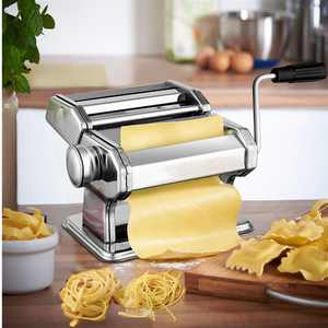 2 size,2-4 mm,Removable Home Pasta Maker Roller Machine Dough Noodle,Fettuccine,Spaghetti Making machine HFON