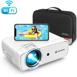 VANKYO Leisure 430W Mini Wi-Fi Projector, Full HD 1080P Supported Projector with Synchronize Smart Phone Screen, Video Portable Projector Compatible with iOS/Android Devices, Windows