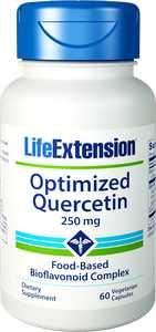 Life Extension Optimized Quercetin Vegetarian Capsules, 250mg, 60 Ct