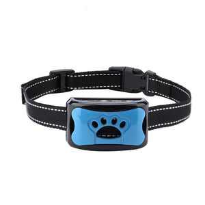 Greensen Barking Control Device Rechargeable Waterproof Anti-Barking Collar Barking Detection(Blue), Anti-Barking Collar, Dog Training Collar